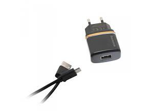 Зарядное устройство REDAX RDX-013 2,1А + 1 кабель (MicroUSB, Lighting, C-Type) , фото 2