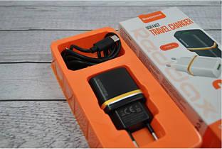 Зарядное устройство REDAX RDX-013 2,1А + 1 кабель (MicroUSB, Lighting, C-Type)  Lighting(Iphone)