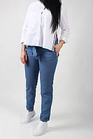 Легкие летние брюки из льна 384г