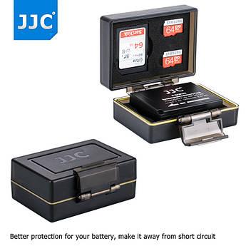 Многофункциональный, водонепроницаемый защитный кейс для карт памяти и аккумулятора JJC BC-UN2