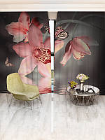 Фотошторы WallDeco Орхідеї (16380_1_ 3)