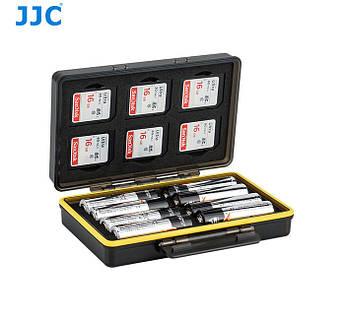 Водонепроницаемый защитный кейс для карт памяти и аккумуляторов AA - JJC BC-3SD6AA
