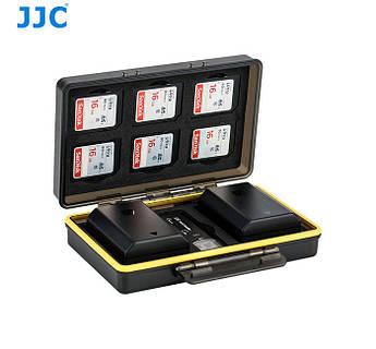 Водонепроницаемый защитный кейс для карт памяти и аккумуляторов - JJC BC-3SD6