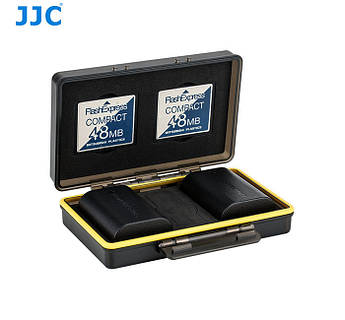 Водонепроницаемый защитный кейс для карт памяти и аккумуляторов - JJC BC-3CF2