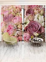 Фотошторы WallDeco Букет цветов (16857_1_ 3)