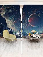 Фотошторы WallDeco Звёздное небо (16874_1_ 3)