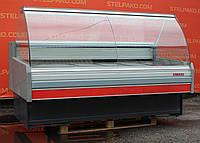 Холодильная витрина колбасная «Arneg S.Dallas 180 VC» 1.9 м. (Италия), широкая выкладка 77 см. Б/у, фото 1