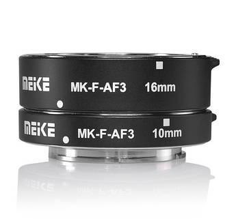 Макрокольца автофокусные для фотокамер FujiFilm (байонет FX) Meike MK-F-AF3