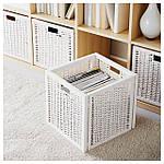 IKEA BRANAS Корзина, белый  (201.927.29), фото 3