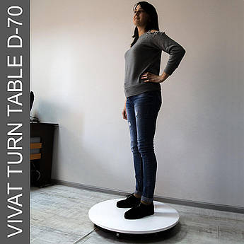 Поворотный стол для предметной съемки (макросъемки) Vivat Turn Table D-70