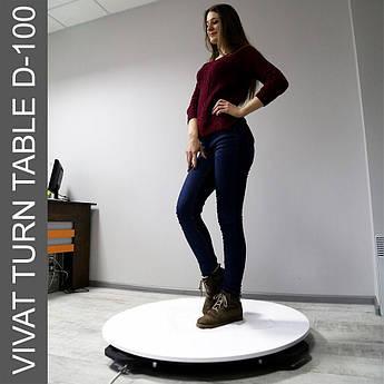 Поворотный стол для предметной съемки (макросъемки) Vivat Turn Table D-100
