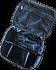Вместительная косметичка со съемными перегородками ORGANIZE (черный), фото 4
