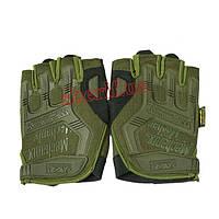 Перчатки Mechanix M-Pact беспалые ,Olive 12325O