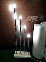 Лампы, светильники, свечи, креативный декор для праздников, свадебная фотозона, президиум, фото 1