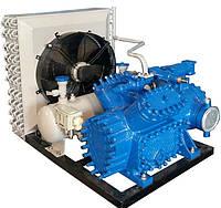 Холодильная машина 1 МВВ 9-1-2 с воздухоохладителями ВО2