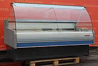 Холодильная витрина охлаждаемая «Arneg S.Dallas 180 VC» 1.9 м. (Италия), широкая выкладка 77 см. Б/у, фото 1