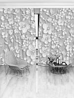 Фотошторы WallDeco Стіна квітів (22615_1_ 3)