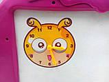Доска для рисования с часами и маркером (2 вида), фото 4