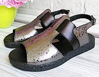 Босоножки из натуральной кожи. Обувь Днепр., фото 1