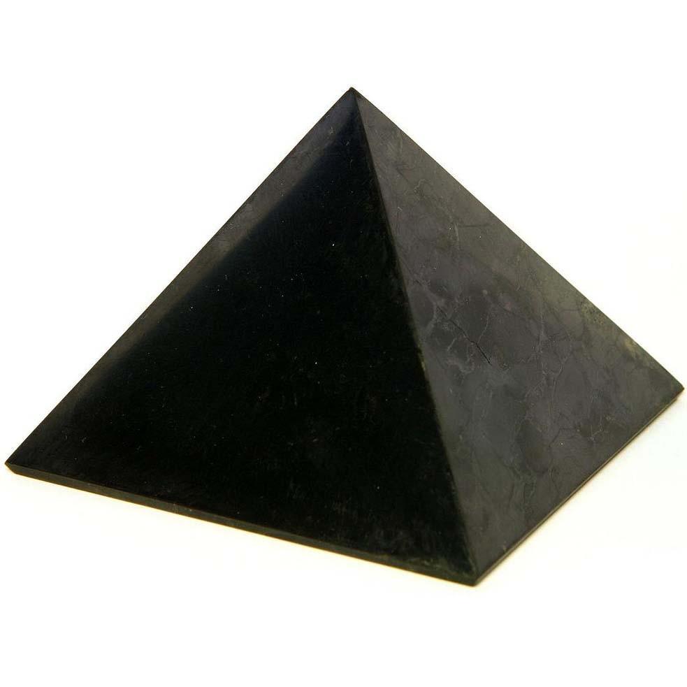 Шунгитовый гармонизатор. Пирамида 50x50мм