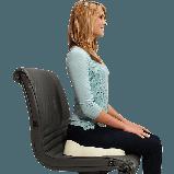 Ортопедическая подушка для сидения Kabooti (расширенная,  51 см), фото 9
