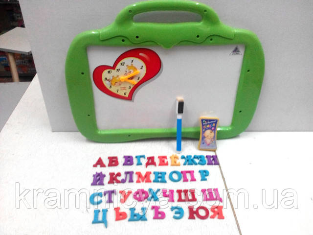 Доска для рисования магнитная русский язык, цифры, знаки. Купить