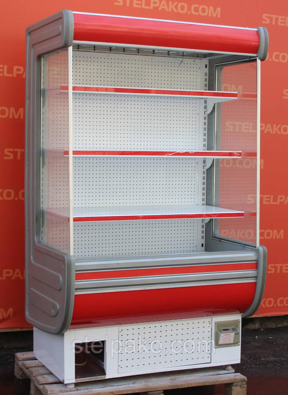Холодильная горка (Регал) «Технохолод Аризона» 1.2 м. (Украина), компактность, Б/у