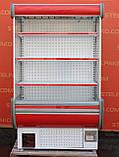 Холодильная горка (Регал) «Технохолод Аризона» 1.2 м. (Украина), компактность, Б/у, фото 2
