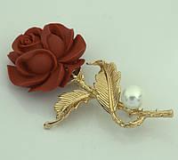 Брошь Роза 792 KH01  AA