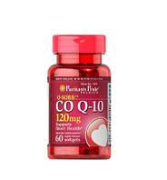 Коэнзим Puritan's Pride Q-SORB™ Co Q-10 120 mg 60 капс.
