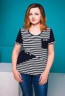 Женская футболка Уголок. Размеры 52-58