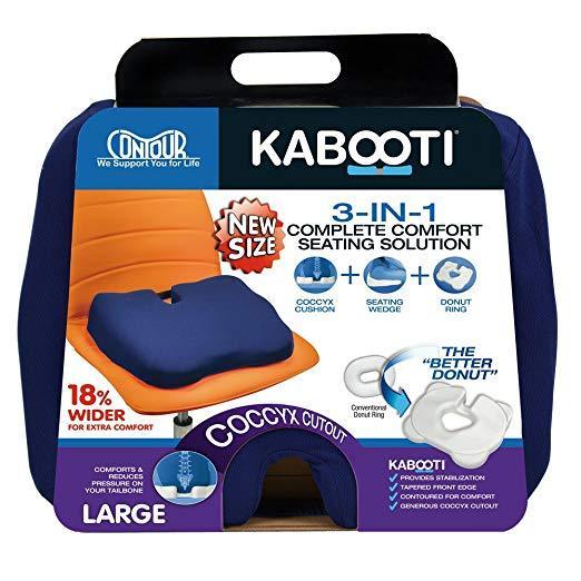Ортопедическая подушка для сидения Kabooti (расширенная,  51 см)