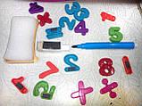 Доска для рисования с часами и маркером  (2 вида), фото 6