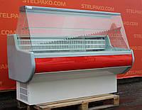 Холодильная витрина гастрономическая «Росс ВПХТ-1.5ПС-0.8» 1.6 м. (Украина), статическое охлаждение, Б/у, фото 1