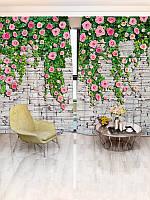 Фотошторы цветы (26450_1_3)