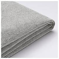 IKEA DELAKTIG Чехол на секцию дивана, Таллмира белый/черный  (303.948.40)