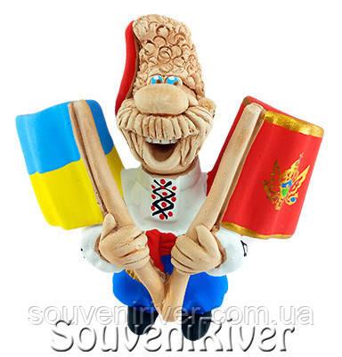 """Сувенирный магнит """"Украина - Черногория"""""""