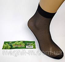 Капроновые носочки с тормозами черного цвета.