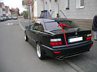 BMW E36 Бленда стекловолокно, под покраску (уценка)