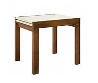 """Кухонний розкладний стіл """"Твіст"""" (горіх\ваніль) 82*67см, фото 1"""