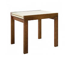 """Кухонний розкладний стіл """"Твіст"""" (горіх або ваніль) 82*67см"""