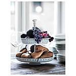 IKEA GARNERA Подставка для торта, 2 тарелки, белый  (102.587.68), фото 2