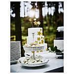 IKEA GARNERA Подставка для торта, 2 тарелки, белый  (102.587.68), фото 5