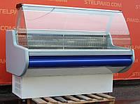 Холодильная витрина гастрономическая «Росс Belluno» 1.6 м. (Украина), статическое охлаждение, Б/у, фото 1
