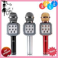 Беспроводной Bluetooth караоке-микрофон DM Karaoke WS1818, фото 1