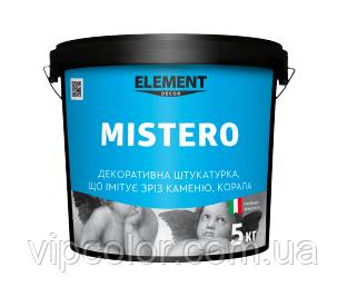 MISTERO ELEMENT DECOR 5 кг Декоративная штукатурка для внутренних работ