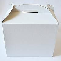 Картонная коробка для торта 3 штуки (310*410*180)