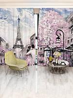 Фотошторы WallDeco Париж на холсте (30562_1_ 3)