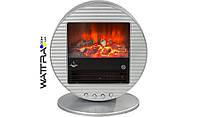 ⭐ Электрокамин (200 Вт) El Fuego Mannheim Серебряный AY3293
