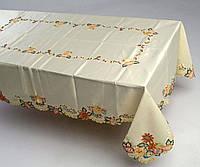 Скатерть на  пасхальный роздвижной стол160*240